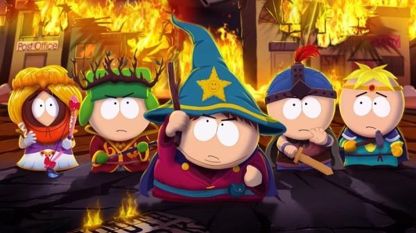 Мультсериал  The South Park в игре