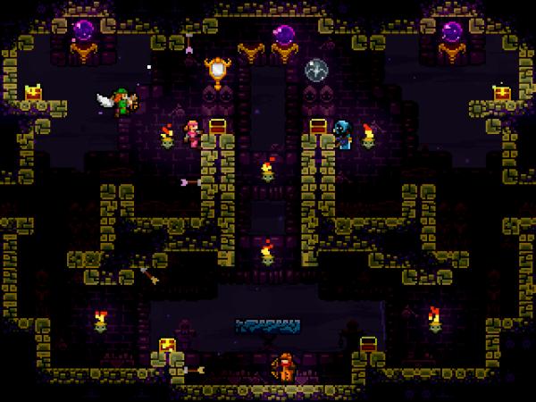 TowerFall: Ascension – сражения в лабиринтах