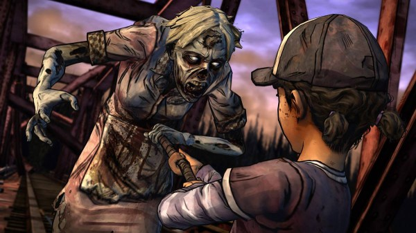 Несколько слов о The Walking Dead: Season Two Episode 2 - A House Divided