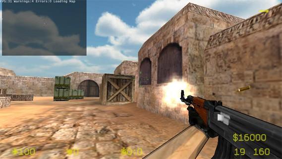 Теперь Counter Strike 1.6 на устройствах Android
