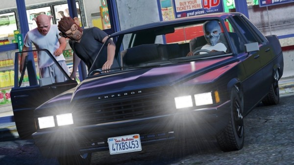 GTA 5 онлайн стала игрой года