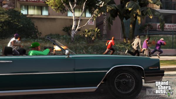 Grand Theft Auto 5 уже недетская игрушка