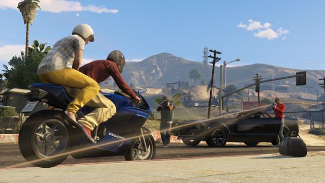GTA Online: Захват - Перехват