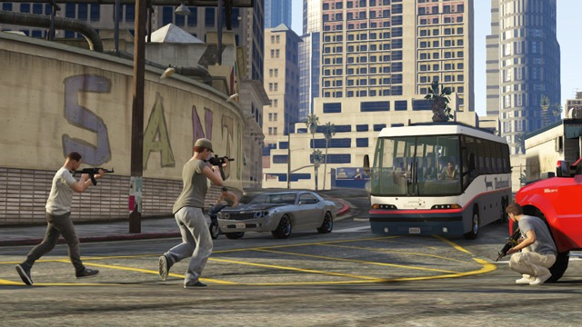 GTA Online: Захват - Налет