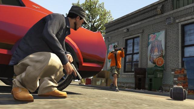 GTA Online: Захват - Рейд