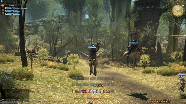 Final Fantasy XIV: A Realm Reborn — консервативный модерн