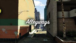 Alleyways – Гонка, созданная игроком omgsamurai