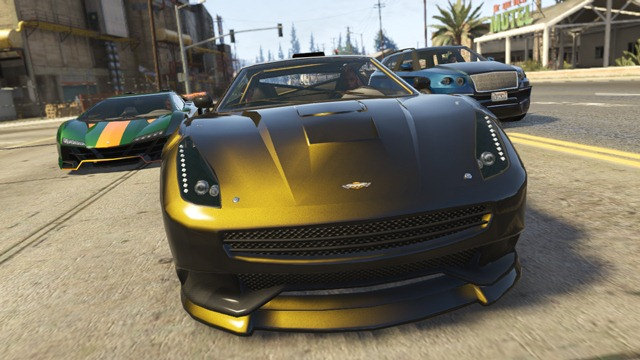 GTA Online (High Life) Новые автомобили Zentorno, Massacro, и Huntley S.