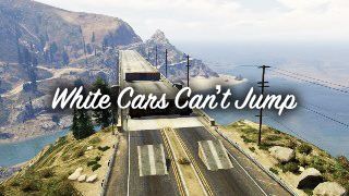 White Cars Can't Jump – Гонка, созданная игроком Therealxstacide