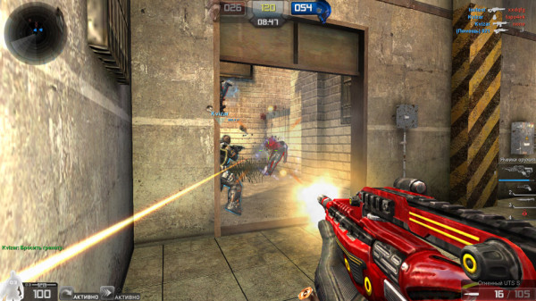 Бета-тестирование новой MMOFPS игры Run and Fire получило свое начало