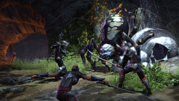 Враги, битвы и система прокачки в The Elder Scrolls Online