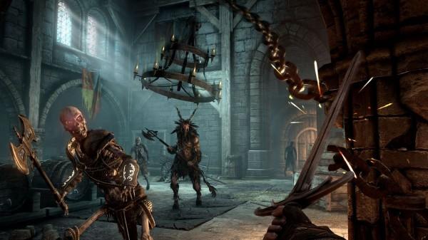 Режим для четырех игроков в  игре Hellraid