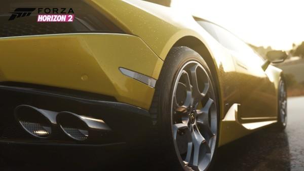 Lamborghini Huracan дебютировала в первом видео игры Forza Horizon 2