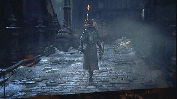 Новый ролик геймплея игры Bloodborne появился в сети