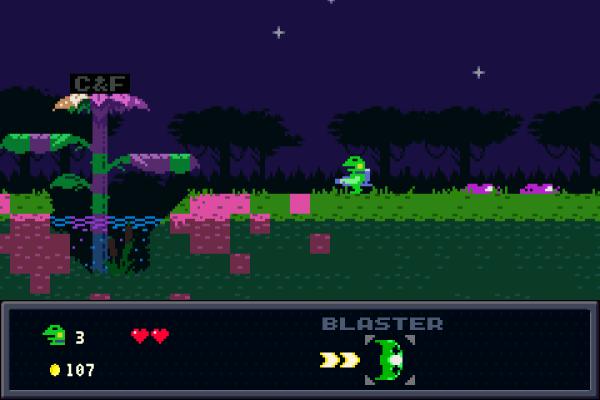 Что из себя представляет Kero Blaster?