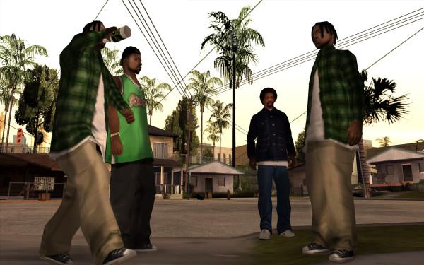 Банды в игре ГТА Сан Андреас