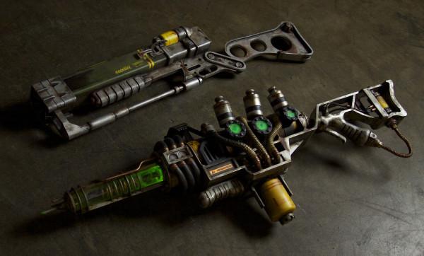 Ружье AER9 из игры Fallout 3 воссоздали в  натуральную величину