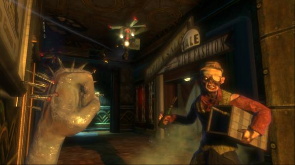 Теперь за  серию игр BioShock отвечает  2K Marin