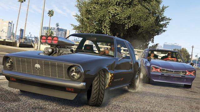 GTA Online: Уличная гонка между Rhapsody и Warrener