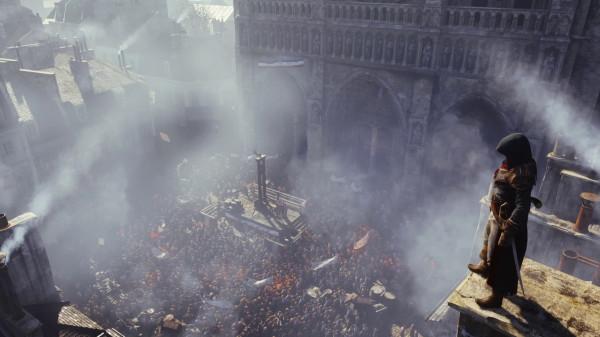 Команда Ubisoft трудится над игрой Assassin's Creed: Unity для РС