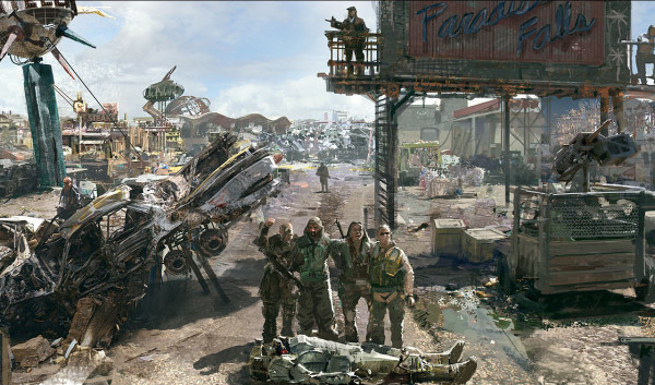 Пит Хайнс прокомментировал игру  Fallout 4, которая была представлена  на выставке GamesCom
