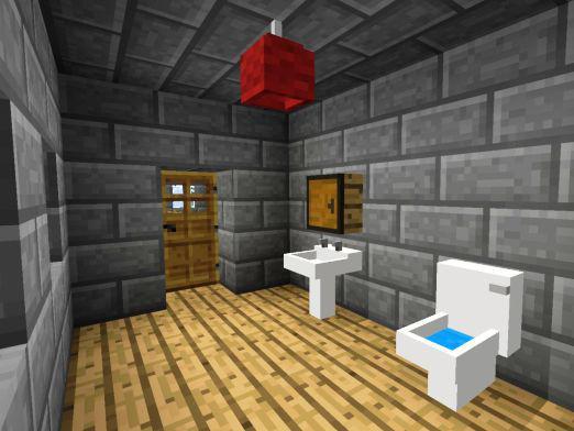 Как сделать туалет в Майнкрафт?