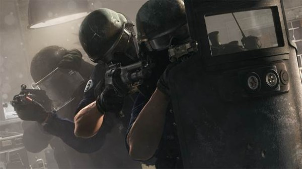 24 минуты геймплея напряженных матчей в игре Rainbow Six: Siege