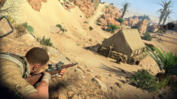 Задача спасти Черчилля в игре  Sniper Elite III