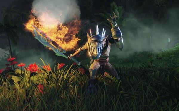 Божественная форма новой MMORPG