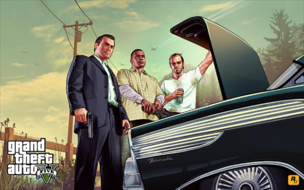 Новые зомби  в игре GTA V