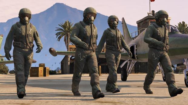 GTA Online: Летная школа - костюмы пилотов