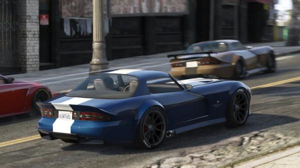 Новые автомашины в GTA 5