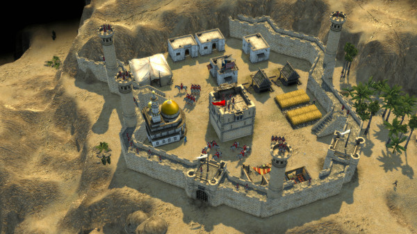 Задержка Stronghold Crusader 2