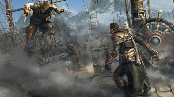 Игроки Assassin's Creed: Rogue  получат возможность   сражаться с  героями из других игр