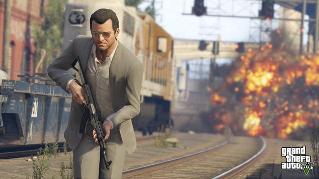 Новые скриншоты GTA 5 на PlayStation 4