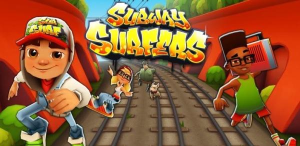Subway Surfers  для мобильных устройств Андроид