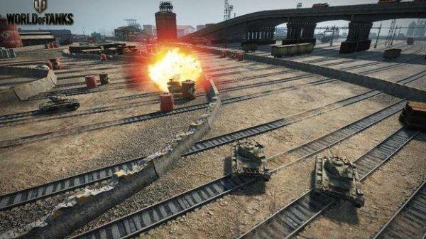 Стартовали уникальные гонки World of Tanks