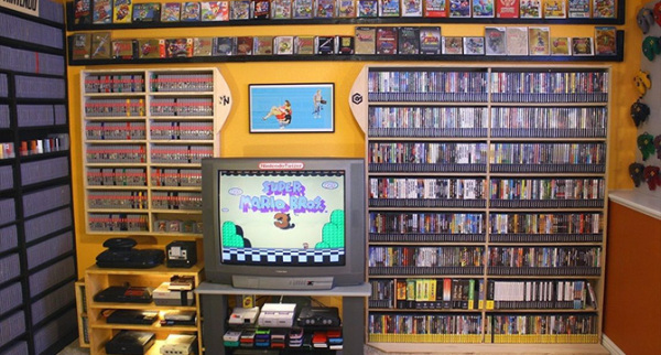 164 тысячи долларов за коллекцию видео игр