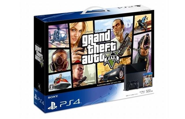 Анонсирован бандл PlayStation 4 с GTA V