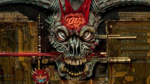 Диорама по шутеру Doom 2: Hell on Earth