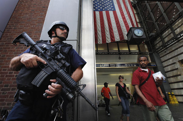 Свеженький анонс Counter Terrorism Unit