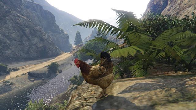 Играем за животных в GTA V