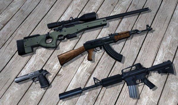 Какое оружие в КС 1.6 лучше?