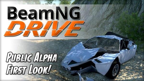Что предлагают нам в игре BeamNG DRIVE