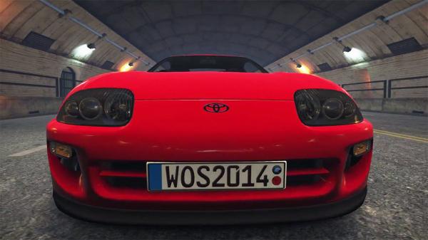 Toyota Supra  в игре World of Speed