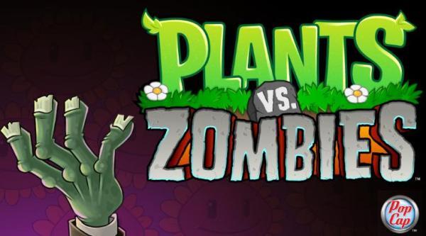 На чем завязан сюжет в Plants vs Zombies
