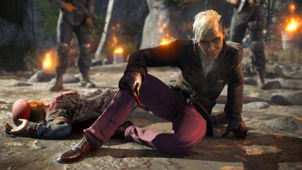 Уникальная  обработка волос и шерсти Nvidia для игры Far Cry 4
