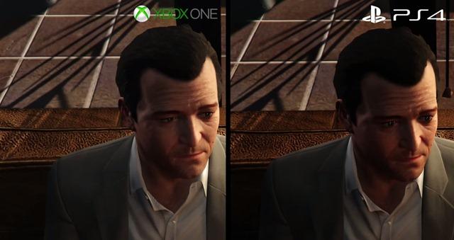 Сравнение GTA 5 на Xbox One и PS 4 (тесты)