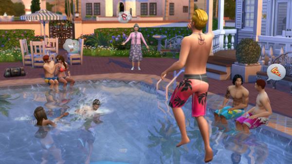 Наконец-то, бассейны в The Sims 4