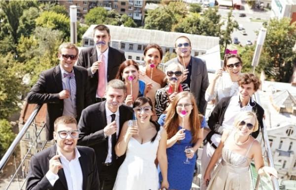 Необычная и свежая идея для свадьбы